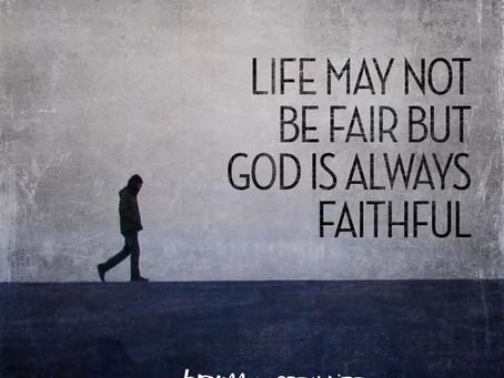 It isn't fair!