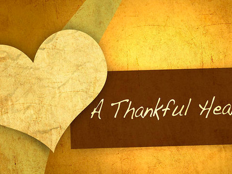 The Sound of a Thankful Heart