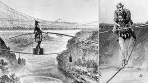An Acrobat, A Wheelbarrow, and a Challenge of Faith