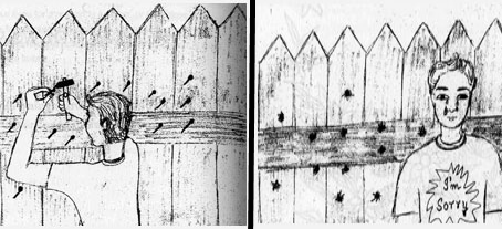 Nails in The Fence - Author Unknown