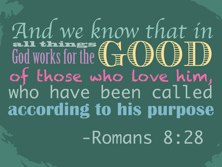 God's Purpose In Things – Author Unknown