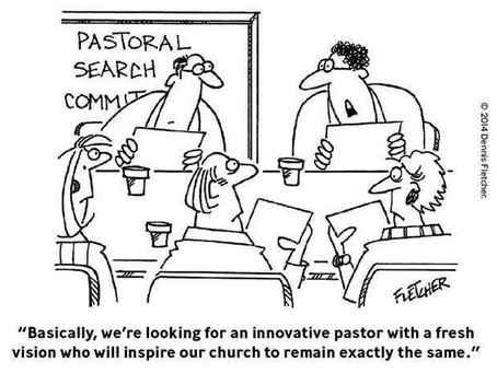Pastoral Search Committee – Author Unknown