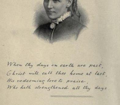 Frances Ridley Havergal, Devotional Writer, Poetess & Hymn Writer