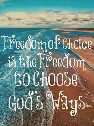 The freedom to do God's thing