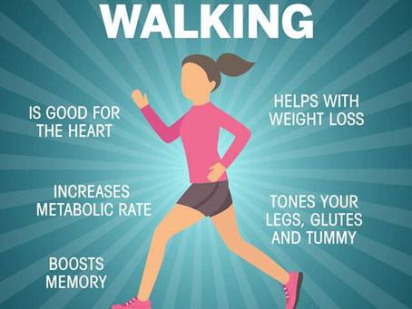 Benefits of Walking...
