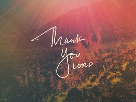 Thank You, Lord – Author Unknown