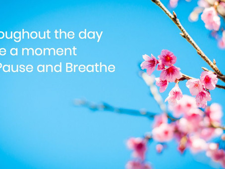 It is Okay to Pause & Breathe