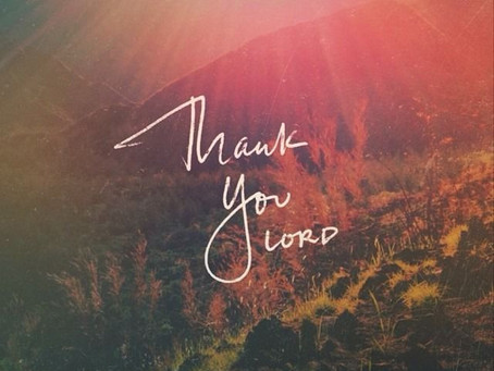 Thank You, Lord -Author Unknown