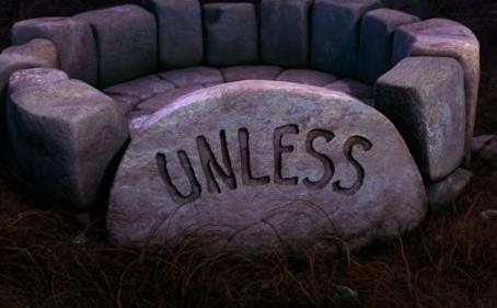 Unless …