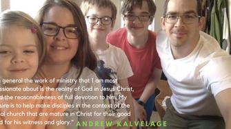 Meet Our New Pastor: Andrew Kalvelage