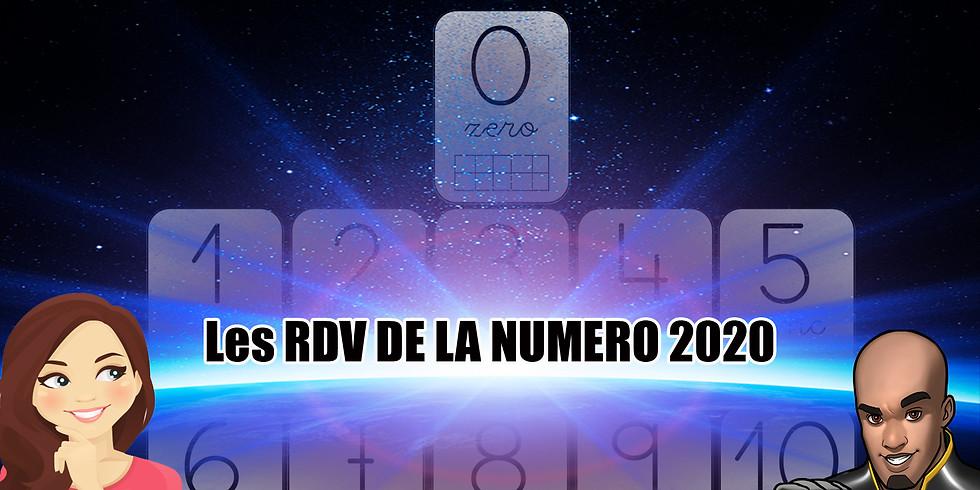 Les RDV de votre Numérologie Février