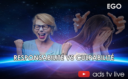 Responsabilité VS Culpabilité
