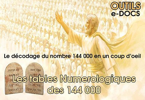 Les Tables des 144000 - PDF
