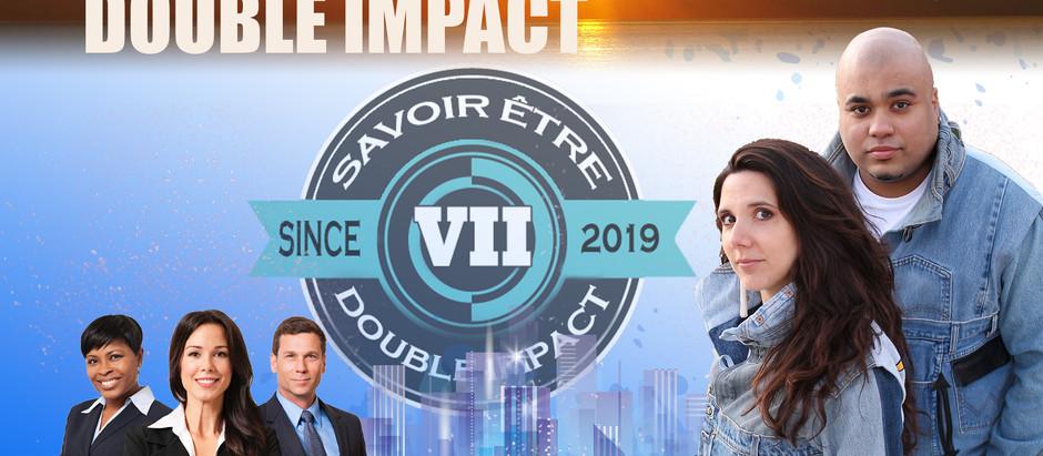 """Interview de Tonia et Cyril """" Ego Managers"""" à Savoir être : Double Impact."""