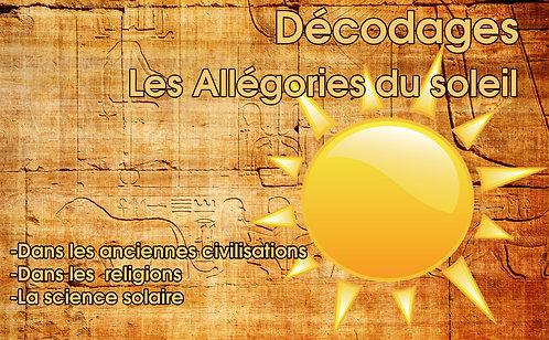 Les allégories du Soleil