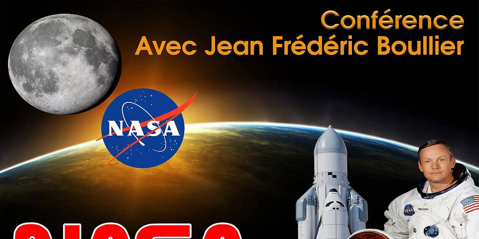 Conférence NASA avec Jean-Frédéric Boullier