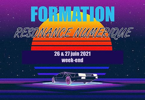 Acompte Formation Résonance Numérique