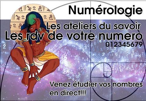 RDV NUMEROLOGIE