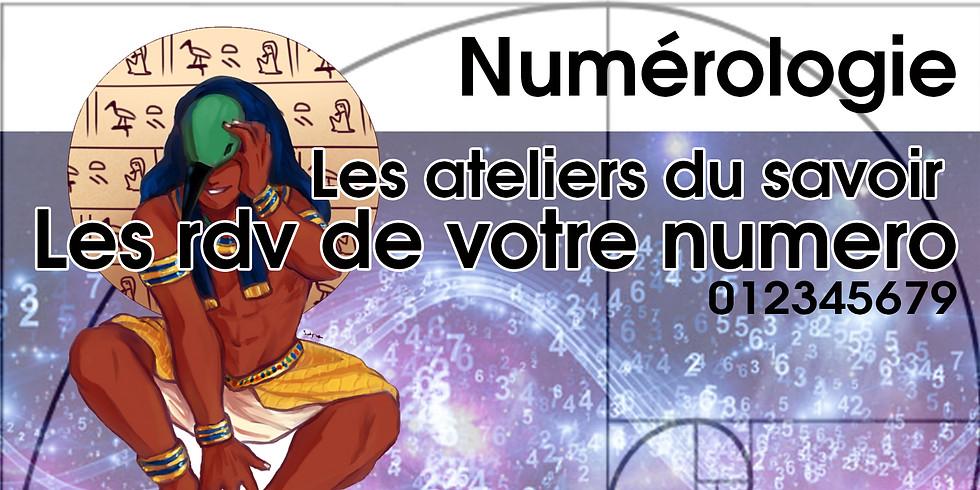Les RDV de votre Numérologie