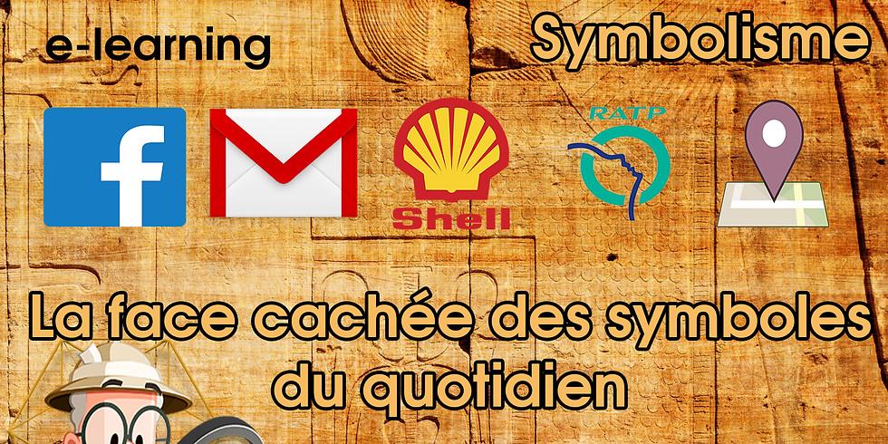 Les symboles d'internet et des médias