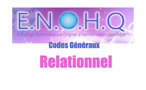 3 Codes ENOHQ : Relationnel