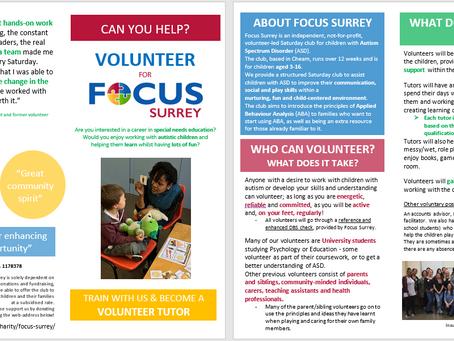 Focus Surrey Volunteer Researches Benefits of Volunteering