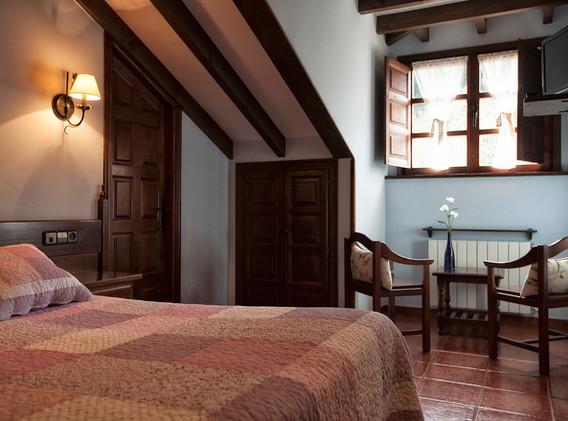 Habitación de una cama doble