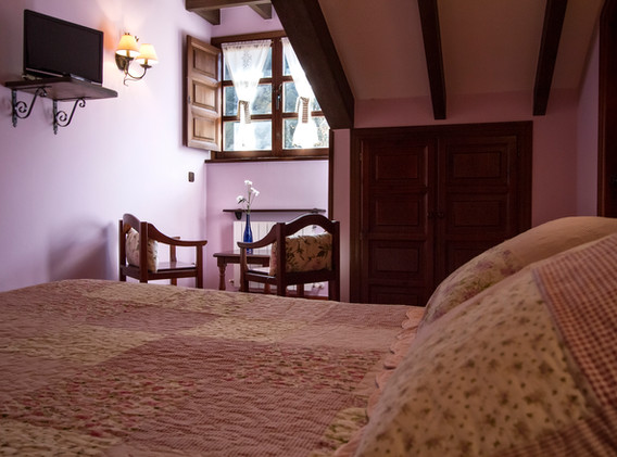 Habitación de una cama doble.