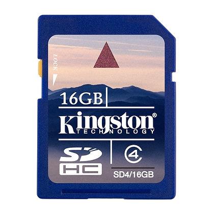 Kingston SD 16 GB Clase 4