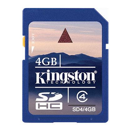 Kingston SD 4GB Clase 4