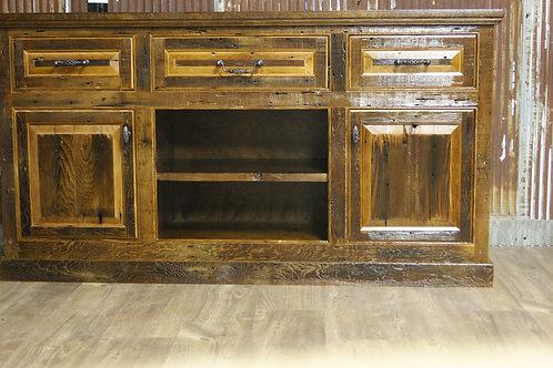 Iowa Barnwood Cabinet