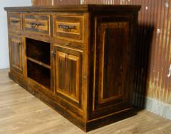 Barn Wood Cabinet