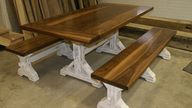 Custom Table & Benches