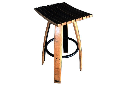 Stave Bar Stool without Swivel