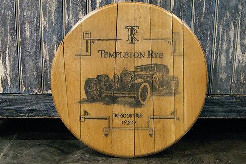 Templeton Rye 1920's Car Barrel Head