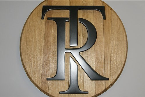 Templeton Rye Raised Letter Barrel Head