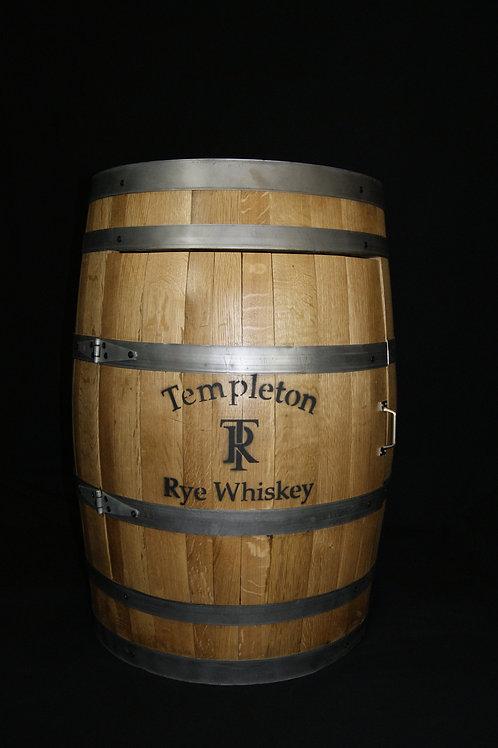 Templeton Rye Whiskey Barrel Cabinet