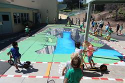 Kindergarten 3D Bike Path