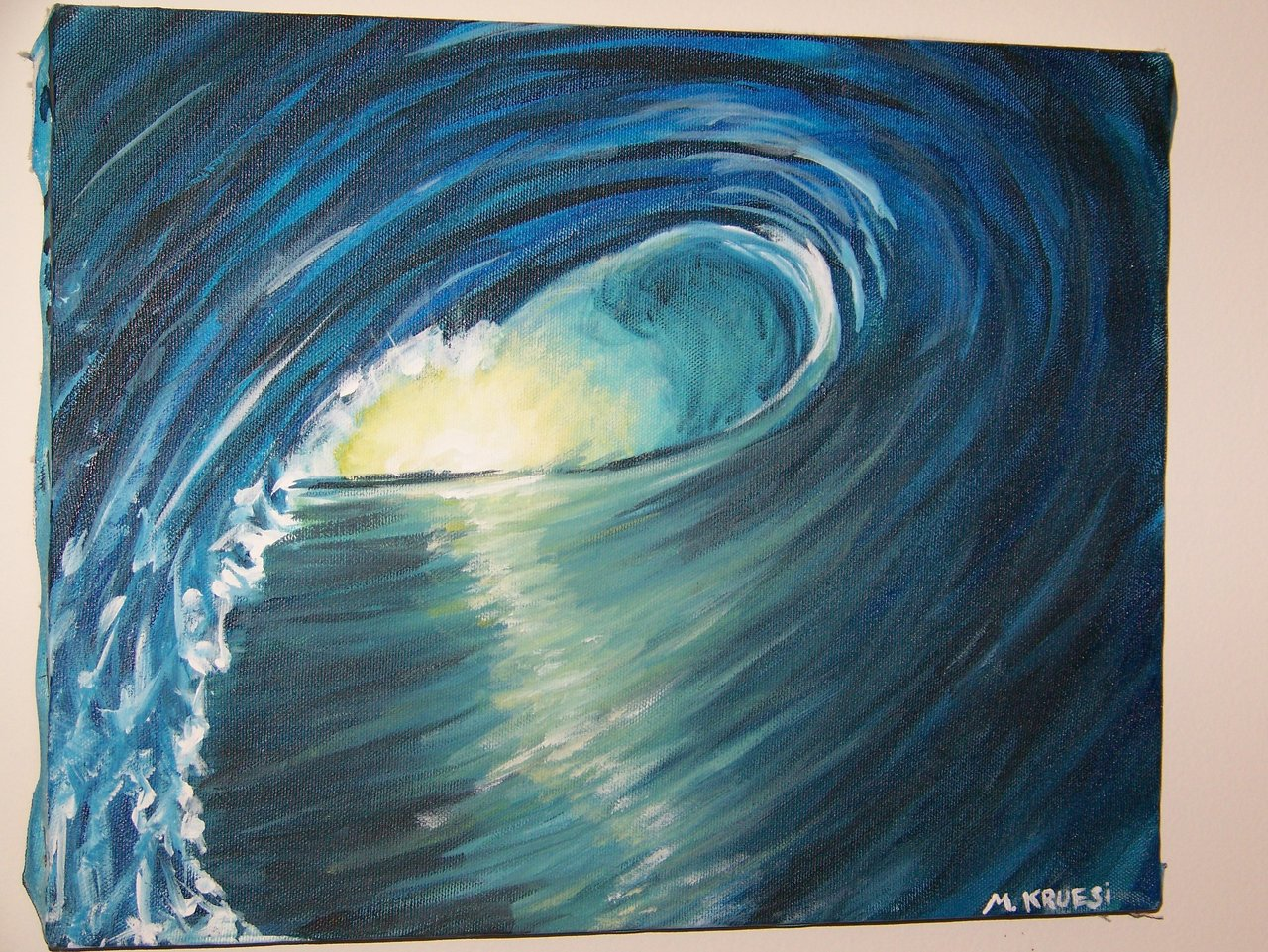 Surf Painting