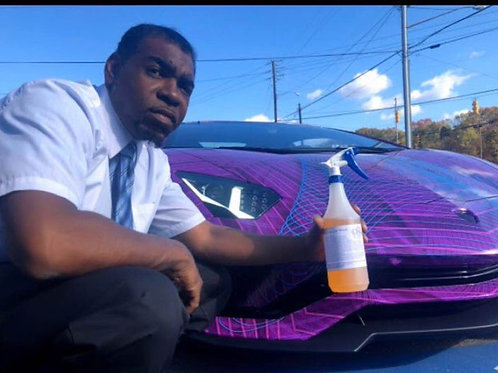 28 ounces Water-less Car Wash