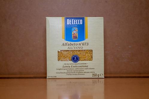 De Cecco Alfabeto (250gr)