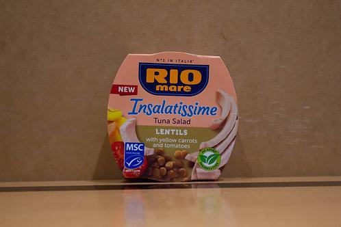 Riomare la Insalatissime Tuna Salad Lentils