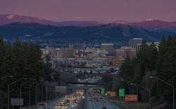 Sunset Hill Spokane WA