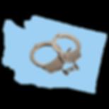 Washington Map with Cuffs