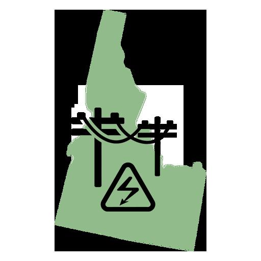 Idaho Map - Utilities