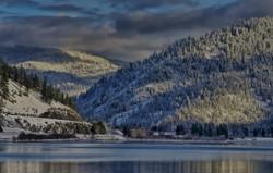 Lake Coeur d'Alene Winter