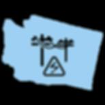 Washington Map - Utilities