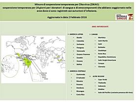 Zika Virus: aggiornamento 2.2.2016