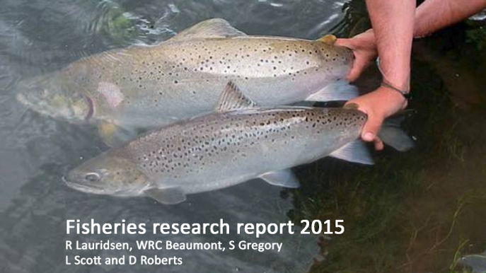 Fisheries Research Report