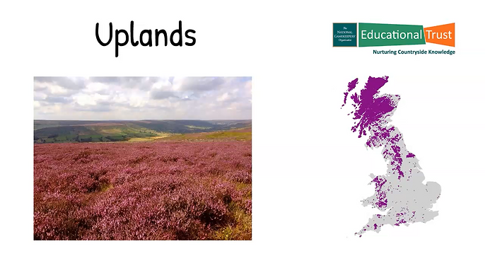 Conservation Fact File  3 - Habitats Upland